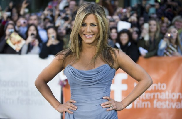 "Jennifer Aniston arrives for the ""Life of Crime"" gala screening at the 38th Toronto International Film Festival in Toronto, Canada on September 14, 2013. REUTERS/Mark Blinch/File Photo"