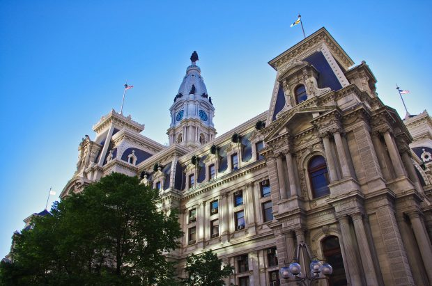 Philly city hall (Creative Commons/ Antoine Taveneaux)