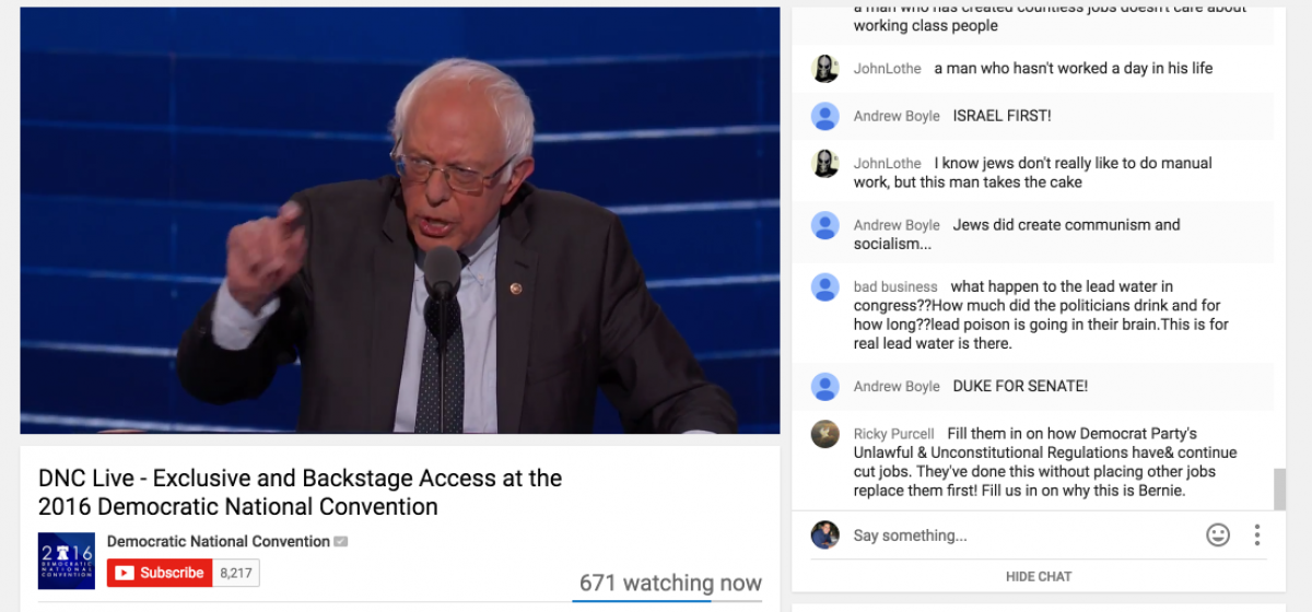 Youtube Screenshot/Democratic National Convention/https://www.youtube.com/watch?v=B775naXy9O4