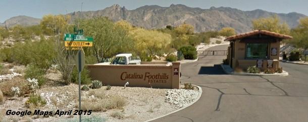 Catalina Foothills Estates Google Maps