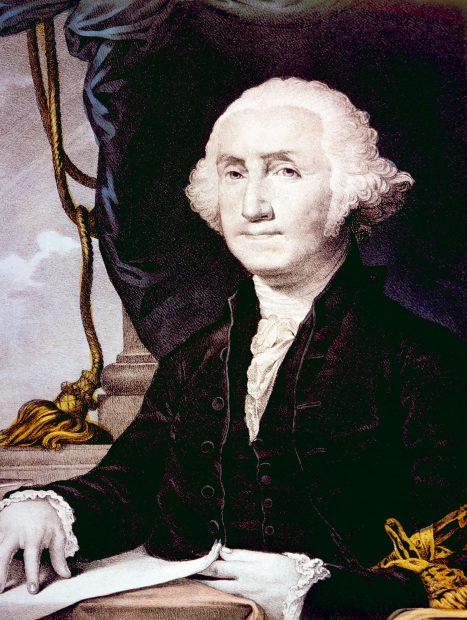 George Washington. Shutterstock/Everett Historical.