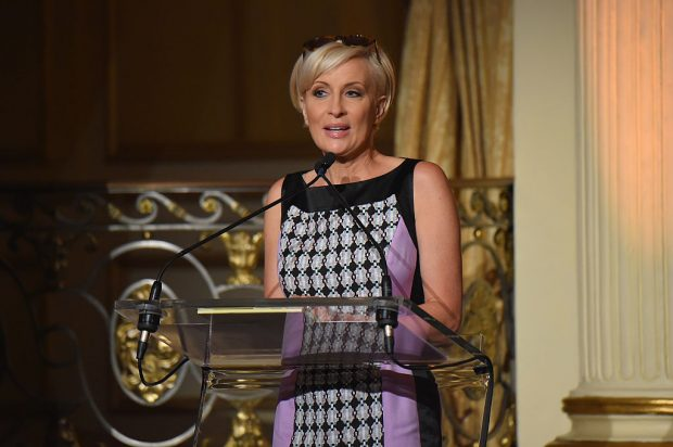 Mika Brzezinski speaks onstage at the 5th Annual Elly Awards hosted by the Women's Forum of New York (Getty Images)