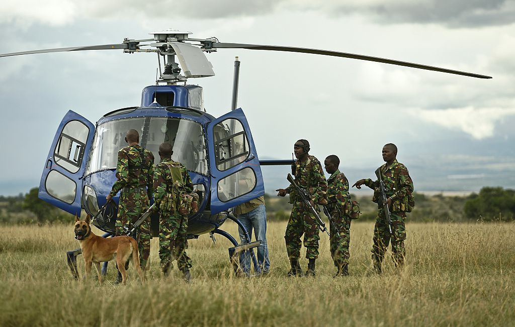 Ol Pejeta Rangers work day and night to protect the animals in their sanctuary [Photo: Carl De Souza/AFP/Getty Images]