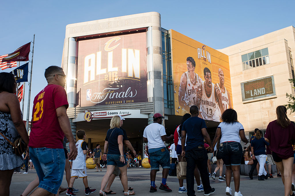 Quicken Loans Arena, site of the 2016 Republican National Convention (Getty Images)