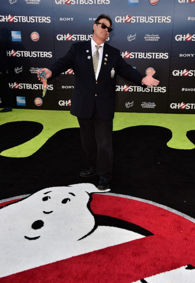 HOLLYWOOD, CA - JULY 09: Actor Dan Aykroyd arrives at the Premiere of Sony Pictures' 'Ghostbusters' at TCL Chinese Theatre on July 9, 2016 in Hollywood, California. (Photo by Alberto E. Rodriguez/Getty Images)