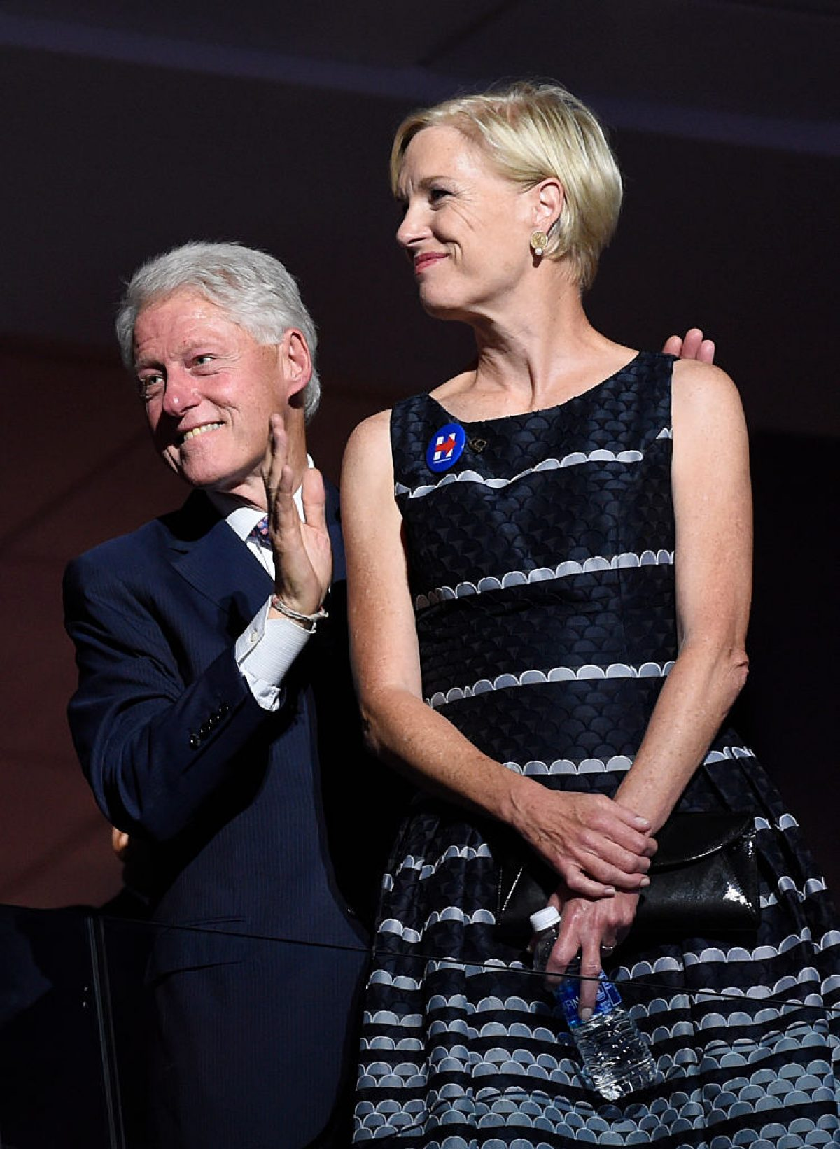 Bill Clinton and Cecile Richards (Getty Images)