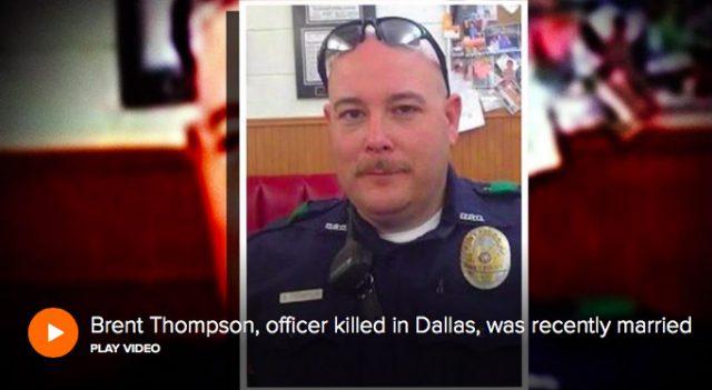 Dallas police officer shot