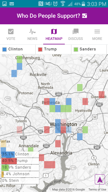 We The People Heat Map