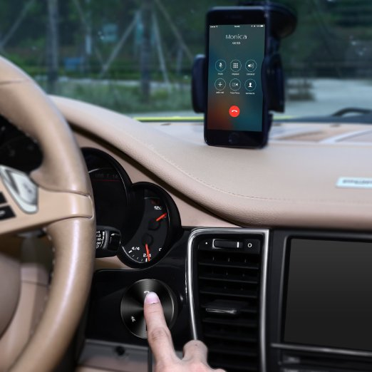 The bluetooth car kit is surely the best way to add bluetooth functionality to your vehicle (Photo via Amazon)