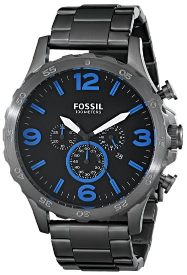 Normally $165, this Fossil watch is 61 percent off (Photo via Amazon)