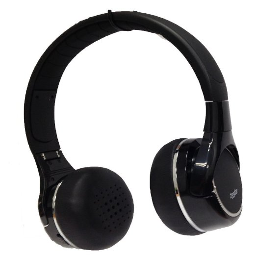 These 40 percent off headphones come in black (Photo via Amazon)