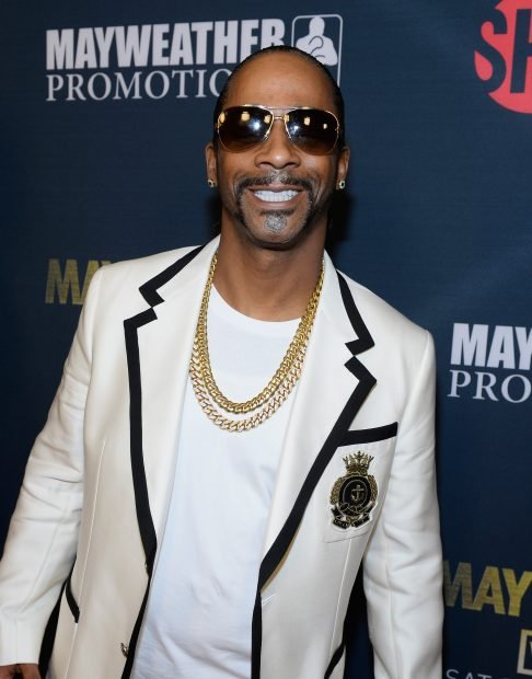 Comedian Katt Williams arrives at the VIP Pre-Fight Party for 'High Stakes: Mayweather v. Berto' presented by Showtime at MGM Grand Garden Arena on September 12, 2015 in Las Vegas