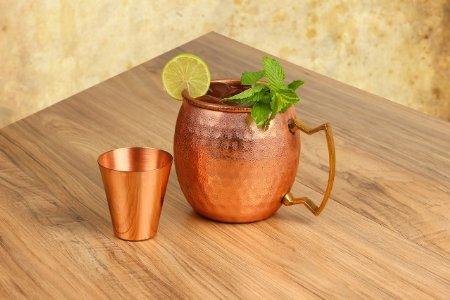 Here are the mug and shot glass (Photo via Amazon)