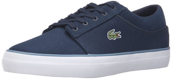 This normally $80 pair of sneakers coms in navy and white (Photo via Amazon)
