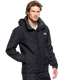The Resolve rain jacket comes in black, grey, blue and red (Photo via Macy's)