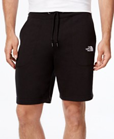 These fleece shorts come in black and two different greys (Photo via Macy's)