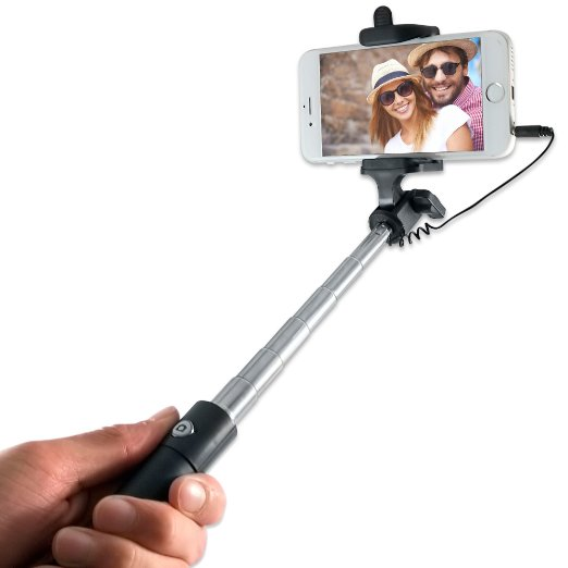 If the couple in this picture is the type of people to own a selfie stick, I definitely don't want one (Photo via Amazon)