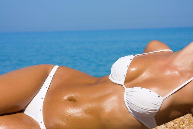 Hot girl bikini photo