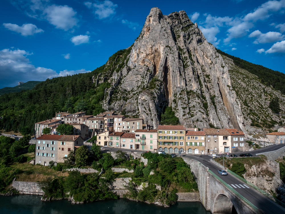 Sisteron, France (Shutterstock)