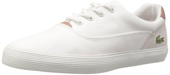 This normally $90 pair of sneakers comes in white, red, black and navy (Photo via Amazon)