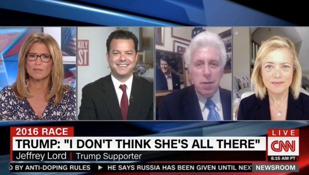 Carol Costello, Jeffrey Lord, Screen Grab CNN, 8-8-2016