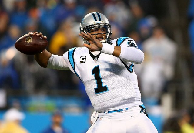 Cam Newton (Credit: Getty Images/Streeter Lecka)
