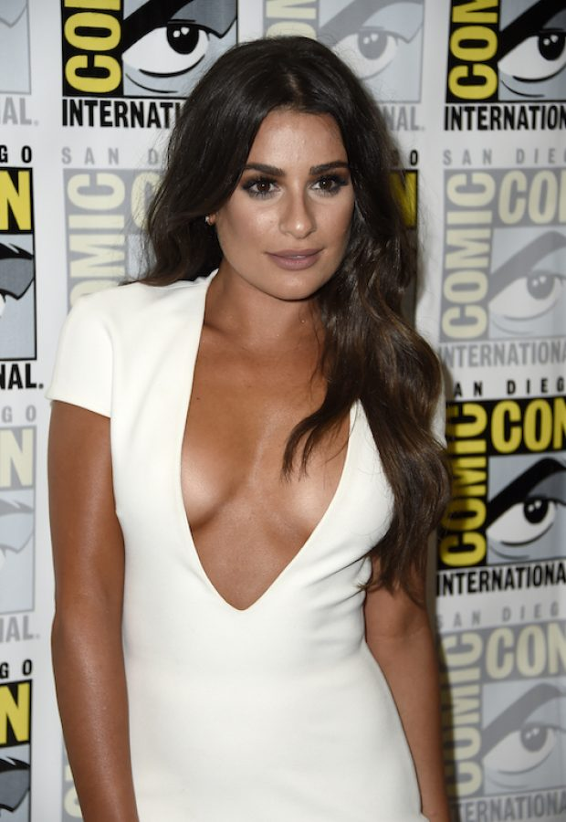 """Lea Michele attends the """"Scream Queens"""" press line during Comic-Con International at Hilton Bayfront on July 22, 2016 in San Diego. (Photo by Frazer Harrison/Getty Images)"""