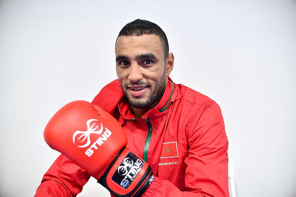 Light Heavyweight Boxer Hassan Saada (Getty Images)