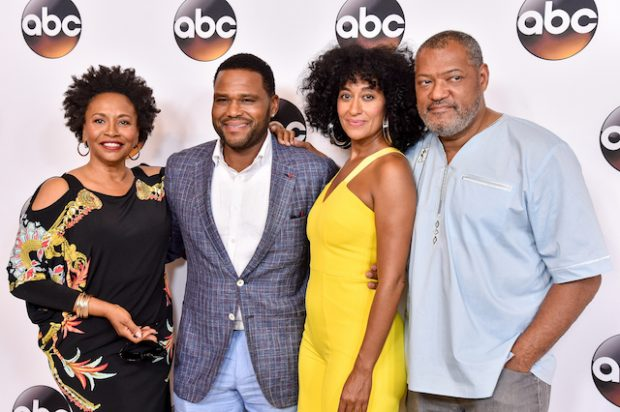 BEVERLY HILLS, CA - AUGUST 04: The cast of 'Black-ish' attends the Disney ABC Television Group TCA Summer Press Tour on August 4, 2016 in Beverly Hills, California. (Photo by Mike Windle/Getty Images)