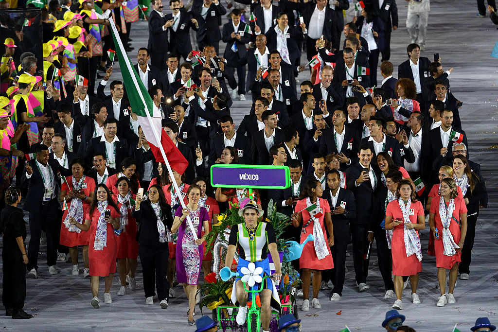 Team Mexico's entrance during the Opening Ceremony of the Rio 2016 Olympic Games (Getty Images)