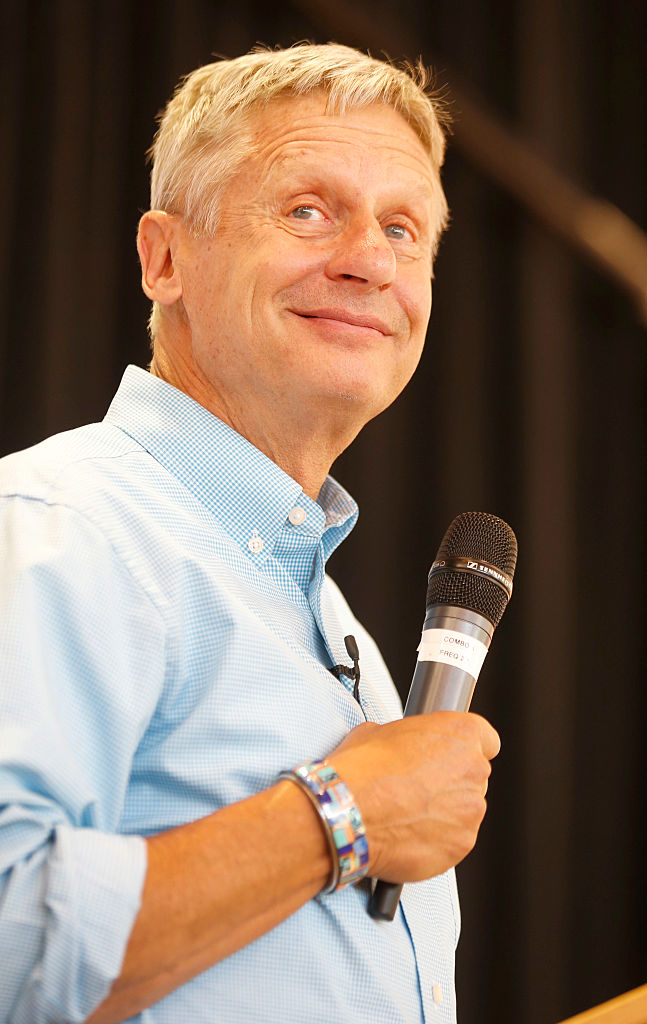 Former New Mexico Governor Gary Johnson (Getty Images)