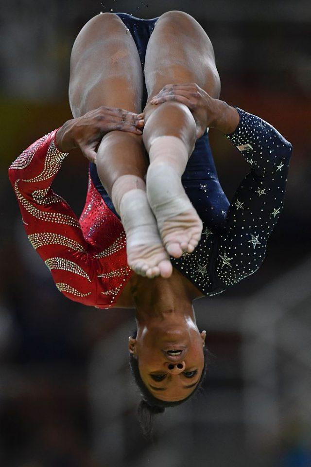 Gabrielle Douglas. (Photo: Getty Images)