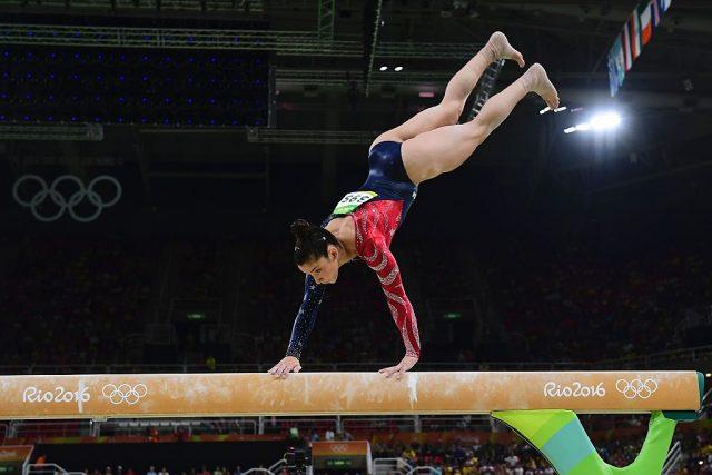 Alexandra Raisman. (Photo: Getty Images)