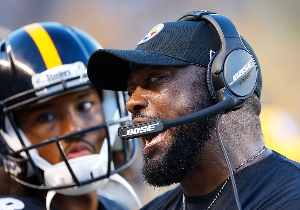PITTSBURGH, PA - AUGUST 12: Mike Tomlin of the Pittsburgh Steelers coaches during the game against the Detroit Lions on August 12, 2016 at Heinz Field in Pittsburgh, Pennsylvania. (Photo by Justin K. Aller/Getty Images)