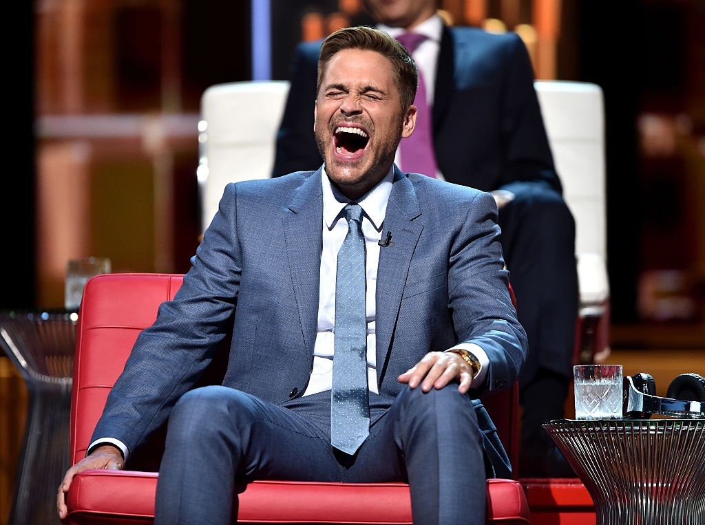 Rob Lowe onstage at The Comedy Central Roast of Rob Lowe (Getty Images)