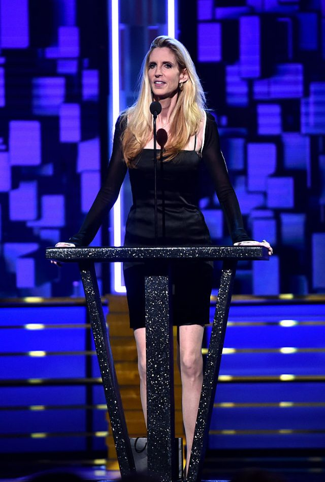 Ann Coulter speaks onstage at The Comedy Central Roast of Rob Lowe (Getty Images)