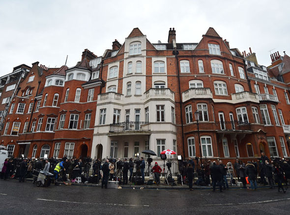 The Ecuadorian Embassy in London (Getty Images)