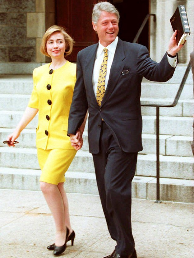 Hillary Clinton 1994 AFP Getty Images Joshua Roberts
