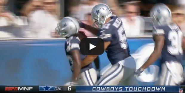 Dallas Cowboys (Credit: Screenshot/Youtube NFL)
