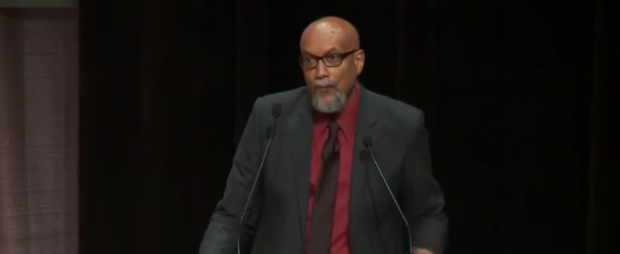Ajamu Baraka (Youtube screenshot/ Democracy Now)