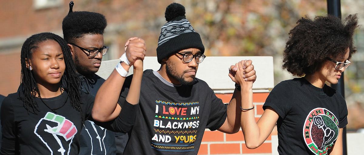 University of Missouri Black Lives Matter protest 2 Getty Images Michael B. Thomas