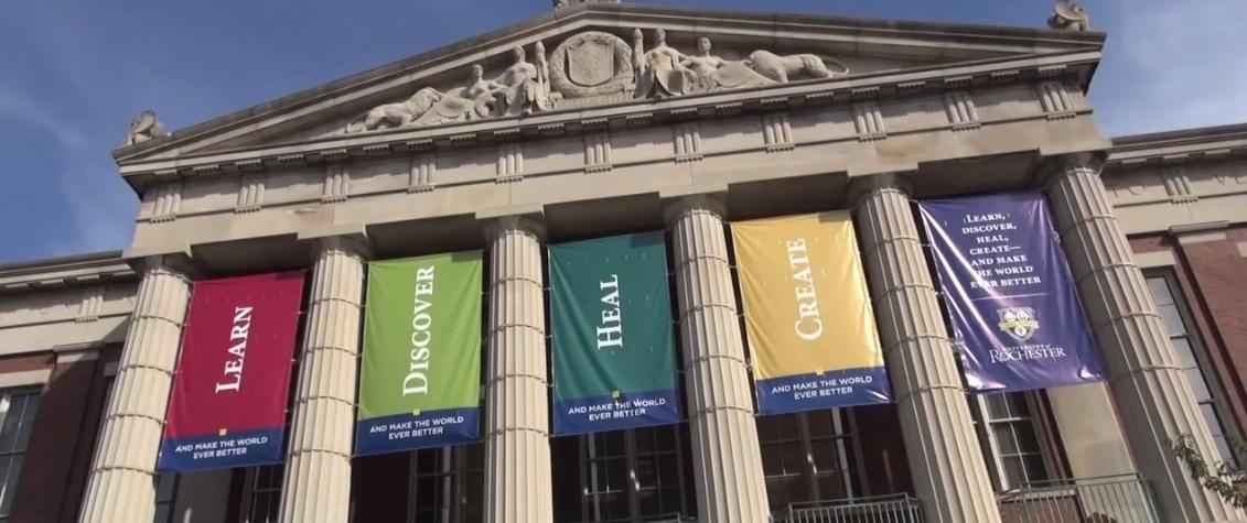 University of Rochester YouTube screenshot University of Rochester Office of Admissions