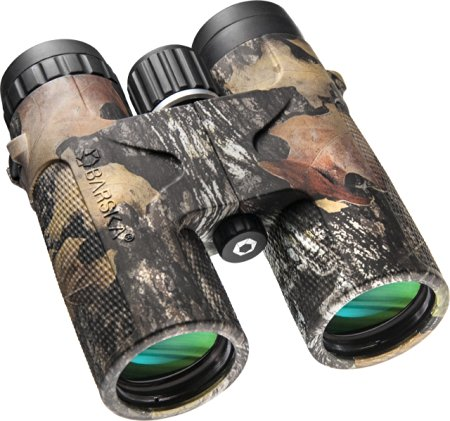 These binoculars come in four sizes and two colors, all on sale today. But the 10x42 in mossy oak is the best deal at $140 off (Photo via Amazon)