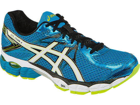 The Gel-Flux 2 also comes in black and grey (Photo via ASICS)