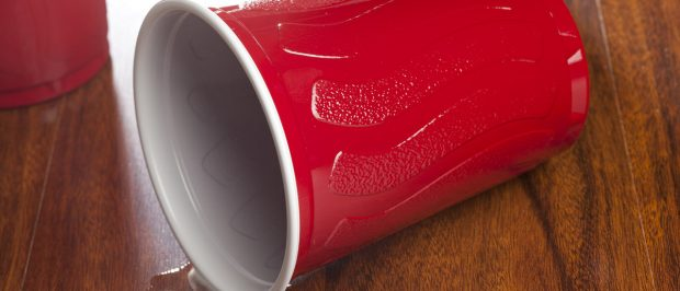 Disposable Red Solo Cup at a party (Shutterstock/Brent Hofacker)
