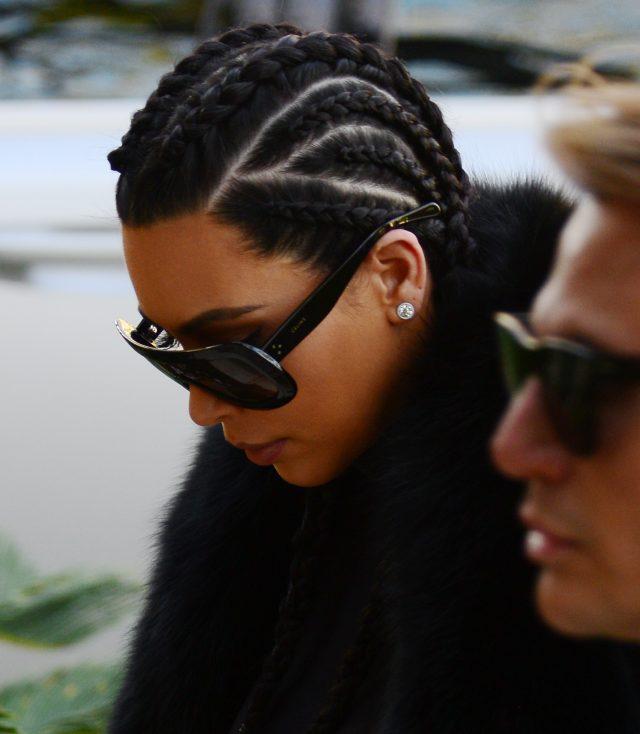 Kim Kardashian. (Photo: Splash News)