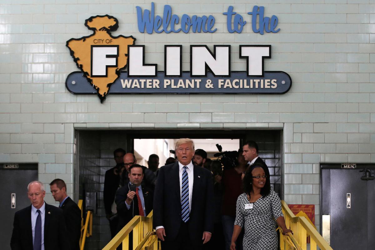 Donald Trump plans to stop in Flint; Mayor Weaver not impressed