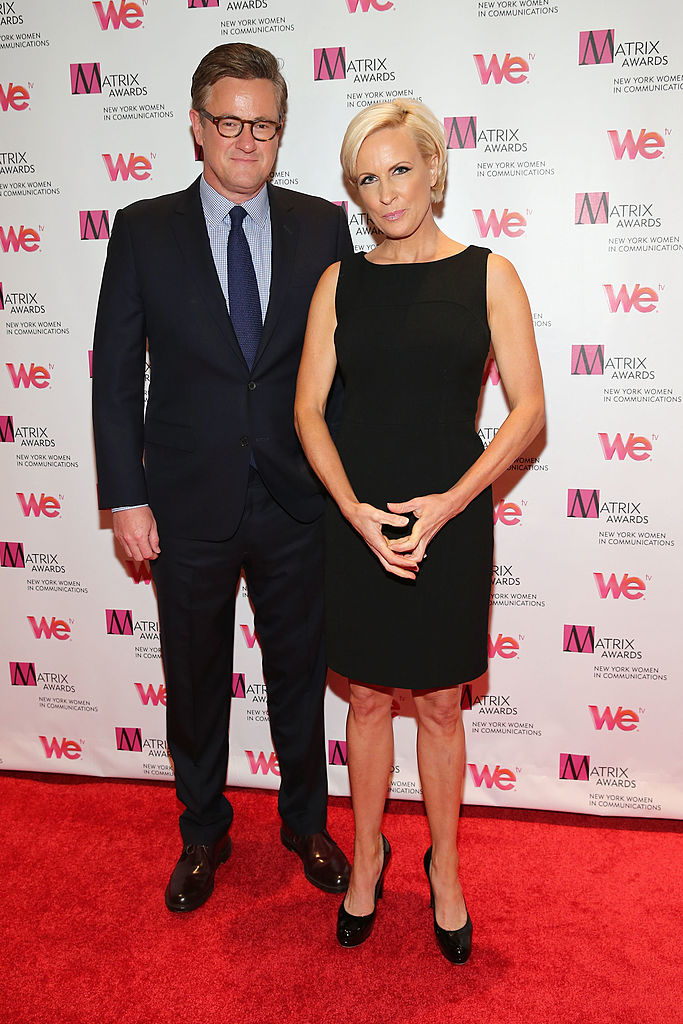 Joe Scarborough Mika Brzezinski attend the New York Women In Communications 2013 Matrix Awards on April 22, 2013 in New York City (Getty Images)