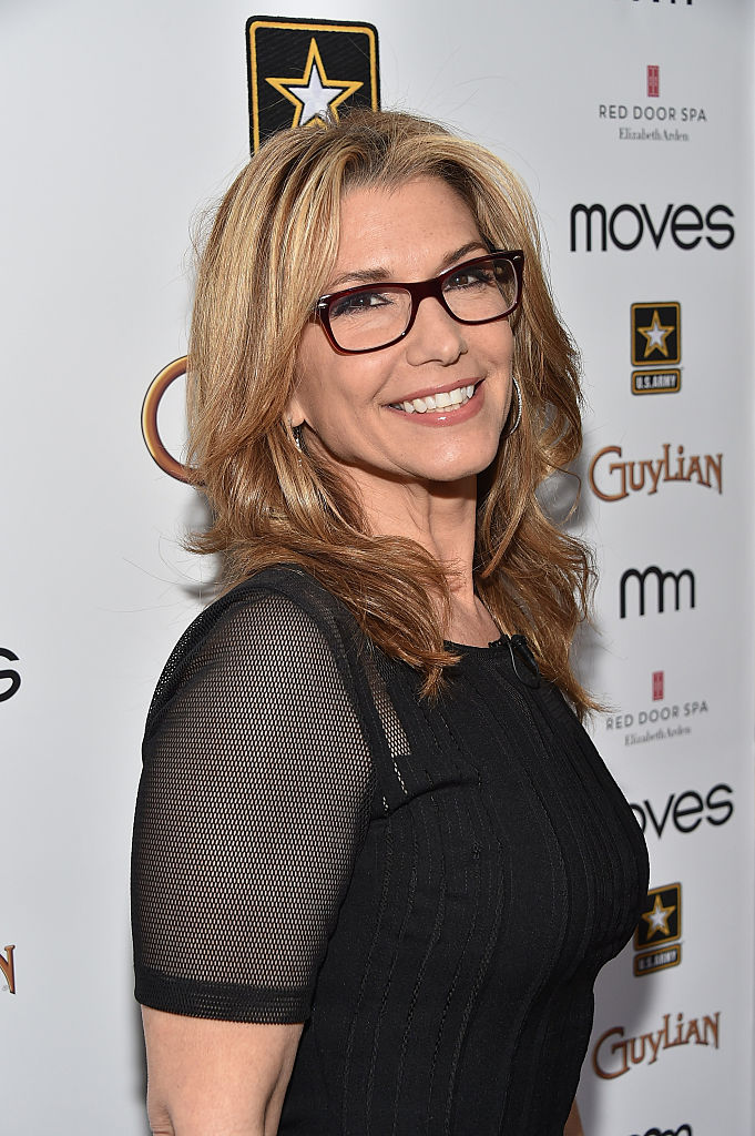 Carol Costello attends the 2015 Moves Power Forum at the Red Door Spa on April 14, 2015 in New York City (Getty Images)