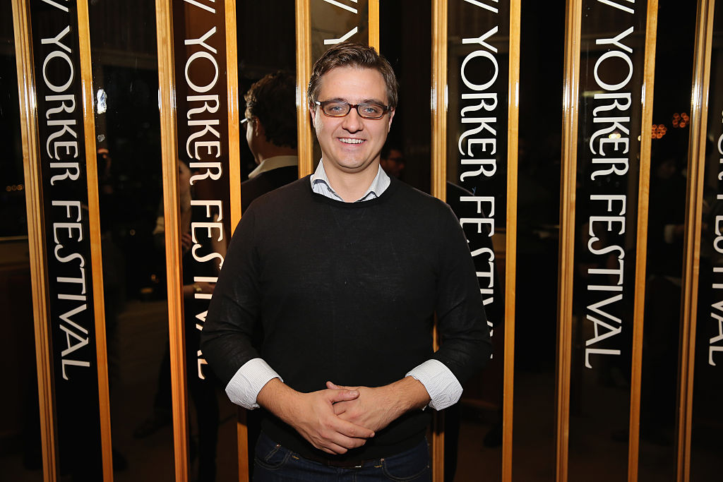 """Chris Hayes attends the 2015 New Yorker Festival """"Wrap Party (Getty Images)"""
